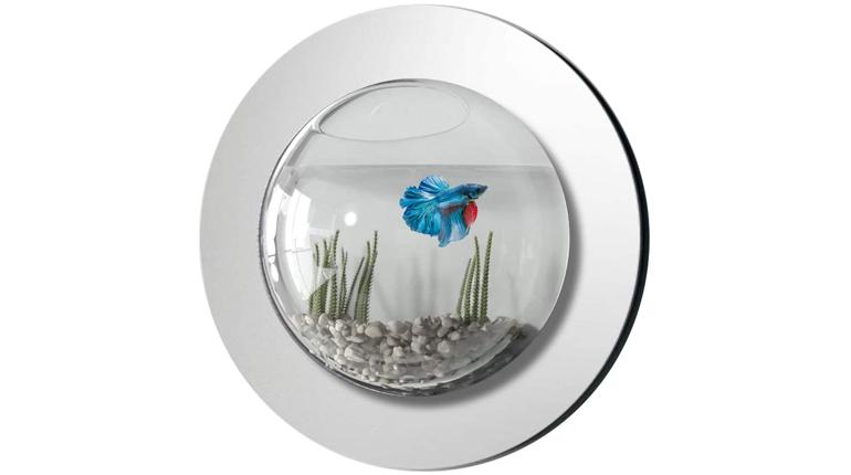 Vandue Reflection Fish Bubble Deluxe Mirror Wall Mounted Aquarium